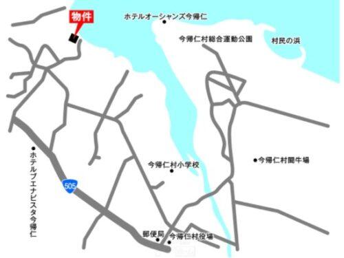 今帰仁村のプライベートビーチ付きリゾート用地