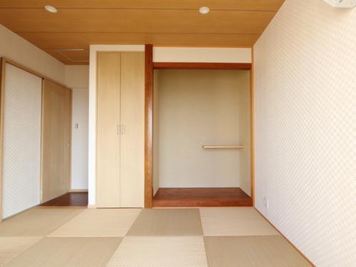 琉球畳でしっとり