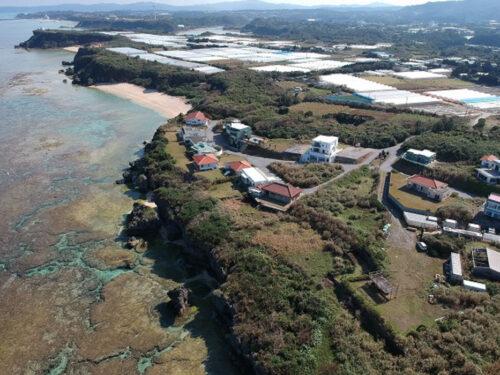 サンゴ礁のオーシャンビュー